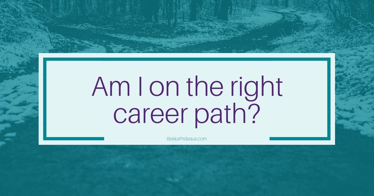 Am I on the right career path?