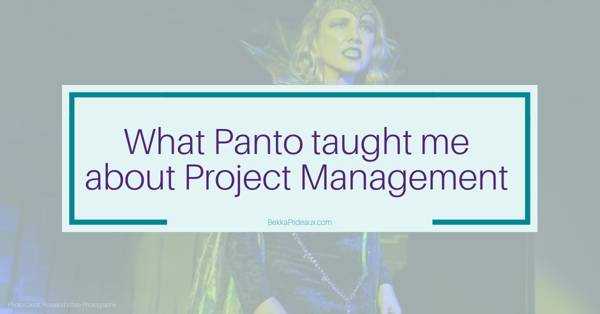 5 Pantomime Lessons in Project Management