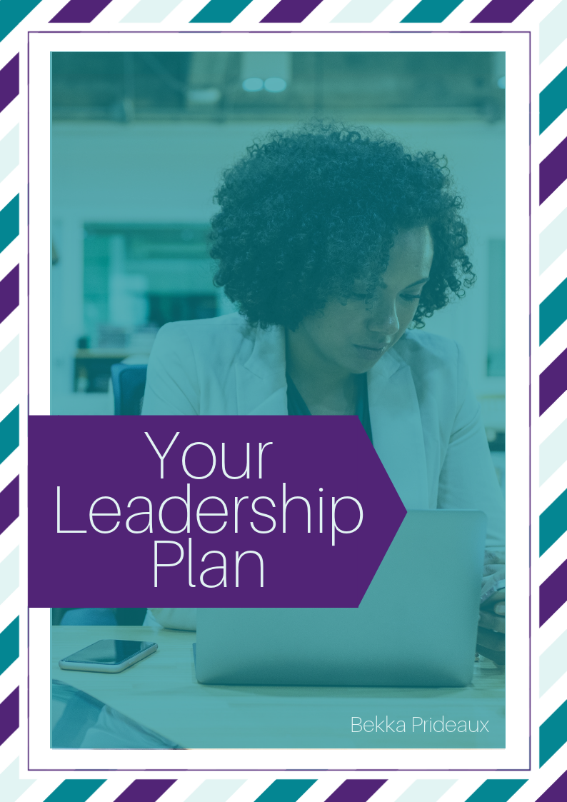 Your Leadership Plan Workbook